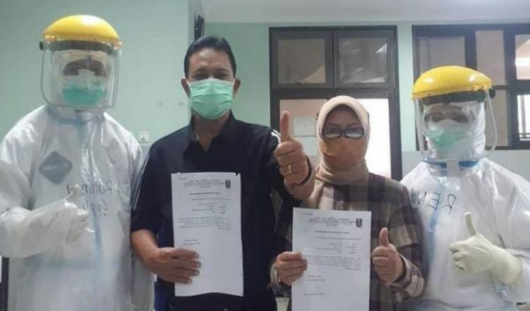 Usai Jalani Perawatan, Wali Kota Madiun dan Istri Dinyatakan Sembuh dari Covid-19