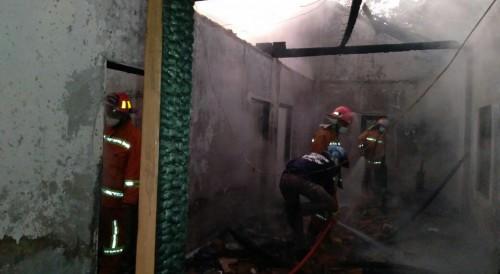 Rumah Salah Seorang ODGJ di Purworejo Ludes Terbakar