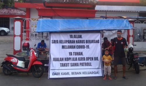 Omzet Turun Saat PPKM Darurat, Pedagang Angkringan di Ponorogo Menjerit