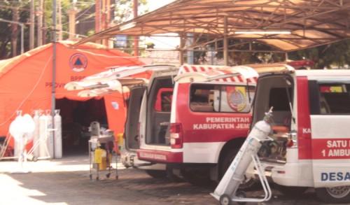 RSD dr Soebandi Jember, Sulap Ambulans Desa Jadi Ruang Perawatan Sementara