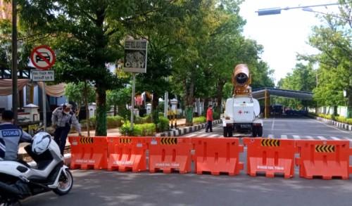 Besok, Akan Ada Gubernur Jatim Ke Tuban, Akses Jalan Pramuka di Tutup Sementara
