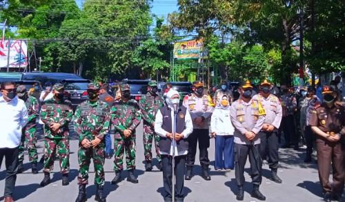 Masa PPKM, Gubernur Jatim Berikan Pesan ke Masyarakat Tuban Agar Tetap Jaga Prokes