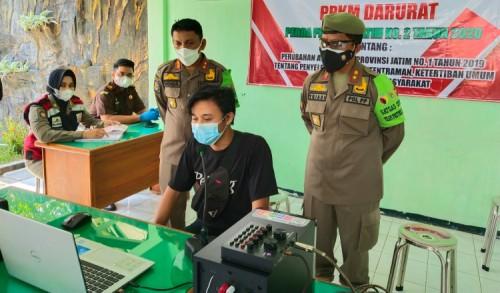 Operasi Yustisi Prokes di Trenggalek Terkumpul Denda 16 juta
