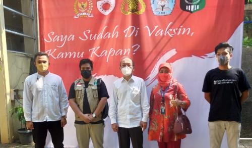 UNINDRA Jakarta, Jadi Kampus Pertama Vaksin Goes To Campus