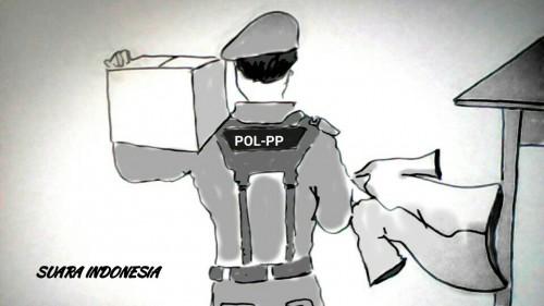 Oknum Satpol PP Angkut Baju Pedagang saat Razia, Ambil 11, Ngaku 10