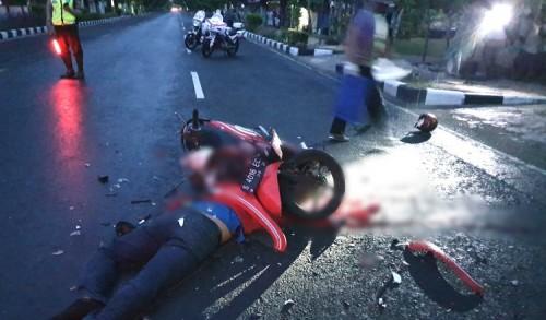 Pegawai Indomaret Asal Merakurak Tewas Usai Hantam Truk Parkir di Tuban