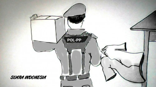 Oknum Satpol PP Gowa Pemukul Wanita Hamil Dipecat, Terancam 5 Tahun Penjara