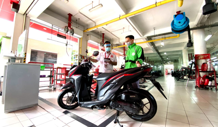 MPM Honda Jatim Berikan Layanan Special Khusus Bagi Pahlawan Kesehatan