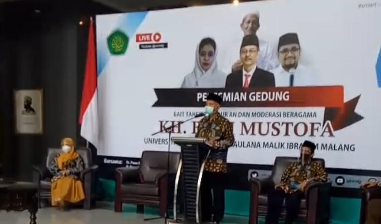 UIN Maliki Malang, Punya Gedung KH Bisri Mustofa