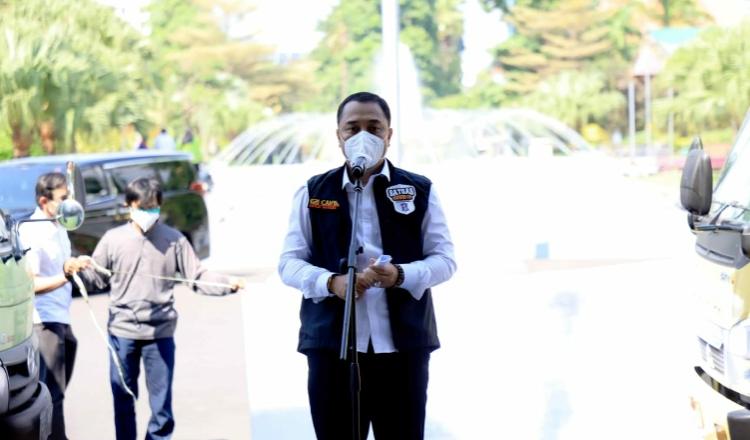 Pemkot Surabaya Siapkan Gedung Sekolah untuk Jadi Tempat Isolasi Mandiri Bagi Pasien Covid-19