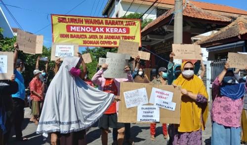Sekolah Jadi Tempat Isolasi Mandiri, Warga Barata Jaya Tolak Kebijakan Pemkot Surabaya