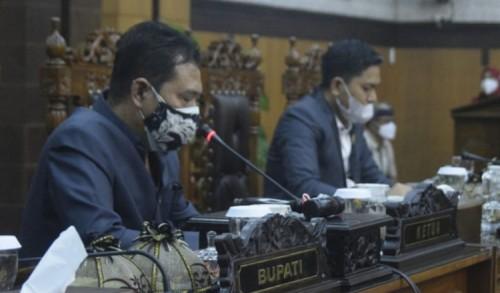 DPRD Banyuwangi Gelar Rapat Paripurna Virtual Pengajuan 4 Raperda Usulan Eksekutif
