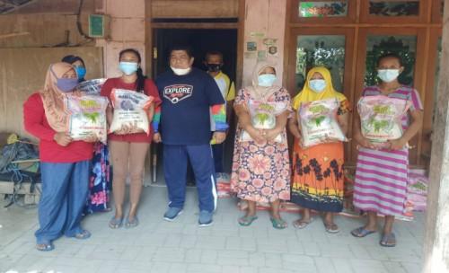Setelah Terpilih Ketua DPD PAN Jombang Lakukan Bansos di Desa Pedalaman