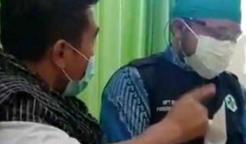 Viral, Pria Ngamuk di Puskesmas Tak Terima Ayahnya Dinyatakan Positif Covid-19