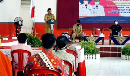 Wali Kota Blitar Santoso Sosialisasi Penggunaan Anggaran DBHCHT di Kepanjenkidul