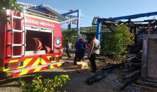 Ruang BP dan Gudang Milik Salah Satu SMP di Ponorogo Hangus Terbakar