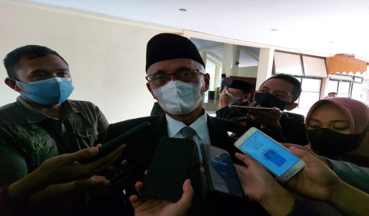 Bupati Bondowoso Imbau Masyarakat Tak Lengah dan Tetap Berdo'a Hadapi Covid-19