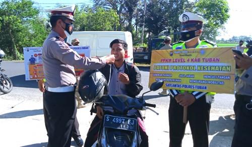 Berani, Warga di Tuban Protes Saat Terjaring Operasi Yustisi, Penyebabnya Sepele