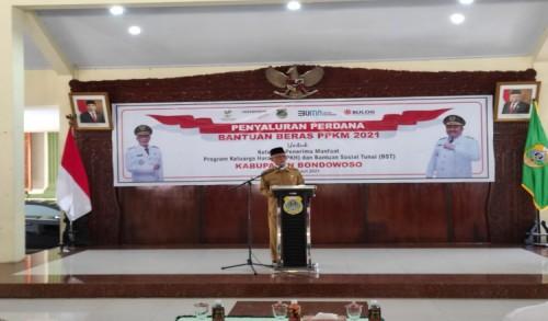 Bupati Bondowoso Anjurkan Perlu Keseimbangan Usaha Lahir dan Batin Hadapi Covid-19