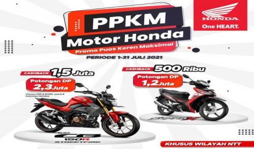 Beli Motor di MPM Dapat PPKM (Promo Puas Keren Maksimal)