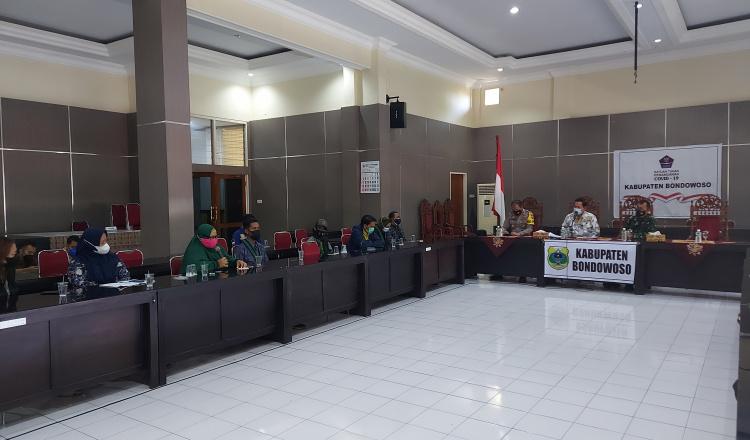 Audiensi HMI ke Pemkab Bondowoso, PKL Ungkap Tak Pernah Dapat Sentuhan dari Disperindag