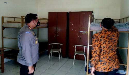 Kasus Covid-19 Melonjak, Gedung PGSD Kota Blitar Disulap Menjadi Tempat Isolasi Terpadu