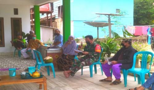 Cegah dan Tangani Covid-19, Koramil 0909-07/Teluk Pandan Lakukan Hal Ini