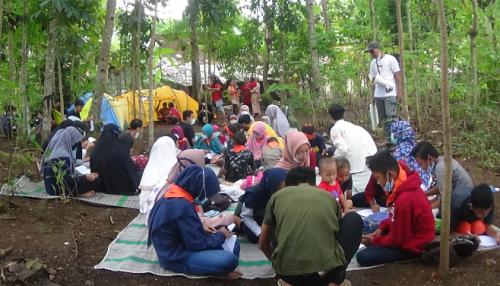 Bantu Belajar Anak saat Pandemi, Pemuda Purworejo Bikin Sekolah Alam