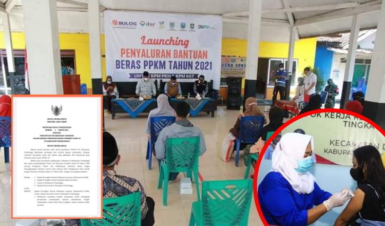 Vaksinasi Jadi Syarat Layanan Publik dan Penerima Bansos Kabupaten Probolinggo