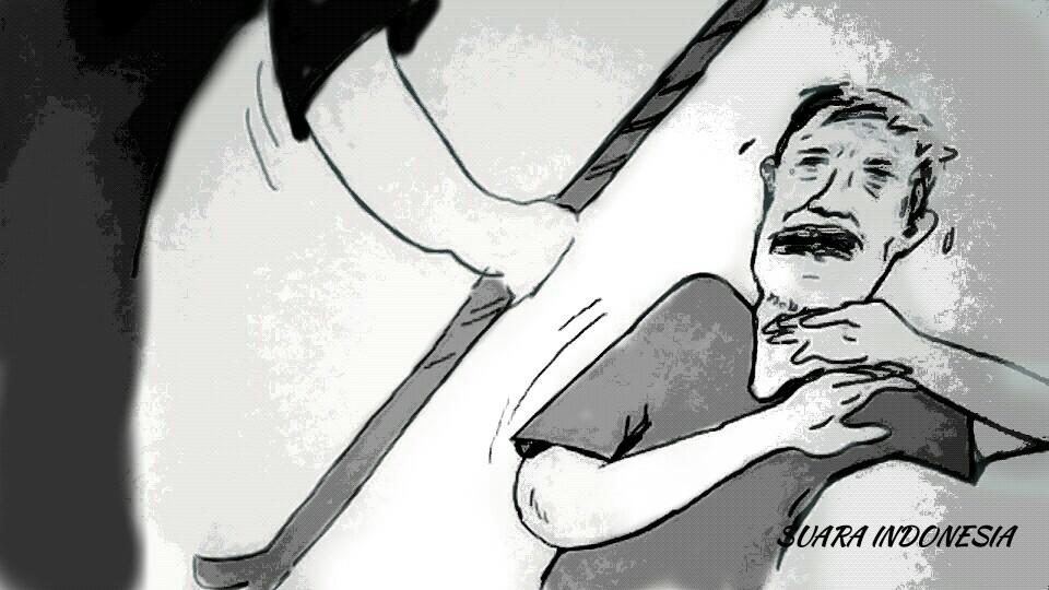 Disindir karena Pengangguran, Pemuda di Jakarta Pukul Mertuanya Pakai Linggis