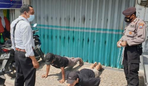 Polresta Blitar Tindak 32 Pelanggar, Operasi Yustisi di Wilayah Perbatasan