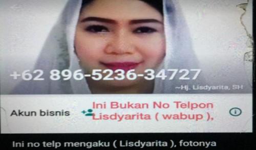 Nomor WhatsApp Wabup Ponorogo Dikloning, Lisdyarita: Mohon Diabaikan