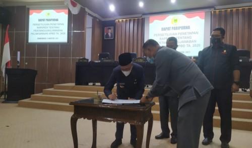 Perda Pertanggungjawaban APBD 2020 Ditetapkan, Begini Kata Bupati Bondowoso