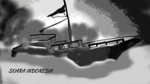 Kapal Nelayan Terbakar di Pulau Berhala, 7 Selamat, 3 Tewas