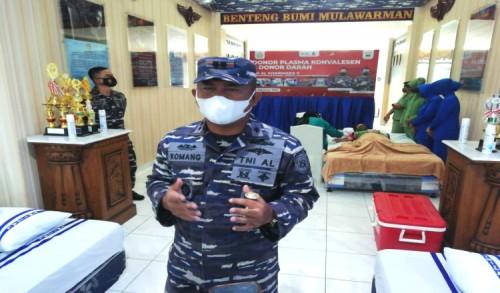 Pangkalan TNI-AL Sangatta Laksanakan Donor Plasma Konvalesen dan Donor Darah