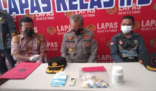 Kasus Penyelundupan Pil Dobel L Dalam Lapas Tuban, Polisi Tetapkan Satu Orang Tersangka