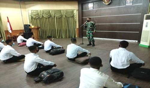 Kodim 0909/Kutai Timur Berangkatkan 56 Pemuda Kutim Ikuti Seleksi Secaba