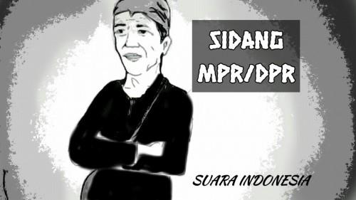 Gaya Jokowi Berpakaian Suku Baduy di Sidang MPR/DPR