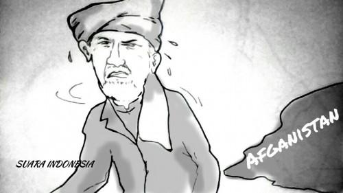 Presiden Ashraf Ghani 'Ngacir' dari Kabul Afghanistan