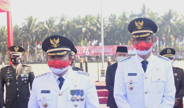 Hari Kemerdekaan, Bupati Hendy Singgung Pentingnya Gotong Royong Saat Pandemi