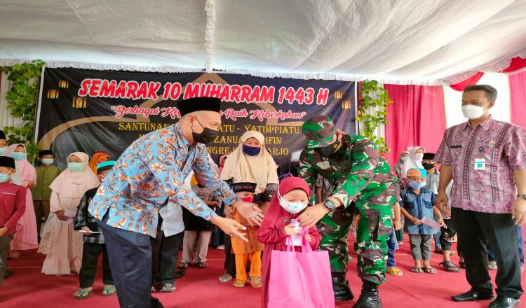 Berkah Bulan Muharram, Puluhan Anak di Purworejo Mendapat Santunan