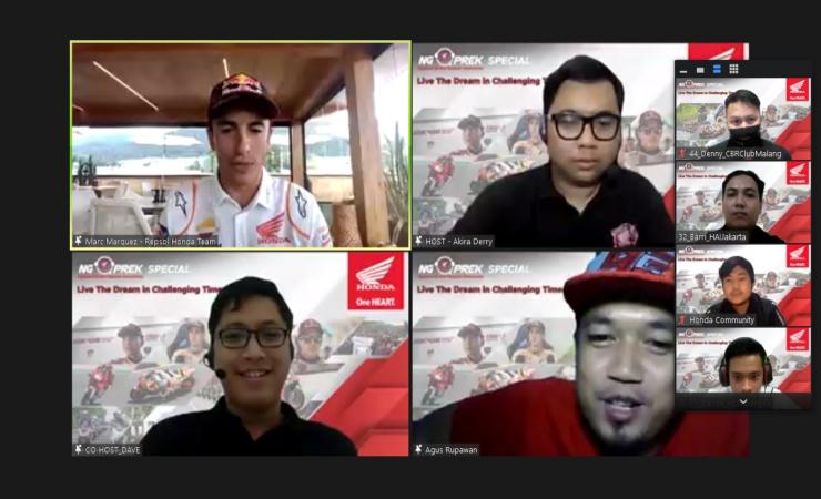MPM hadirkan Marc Marquez dan Pol Espargaro untuk Semangati Komunitas Honda di Indonesia