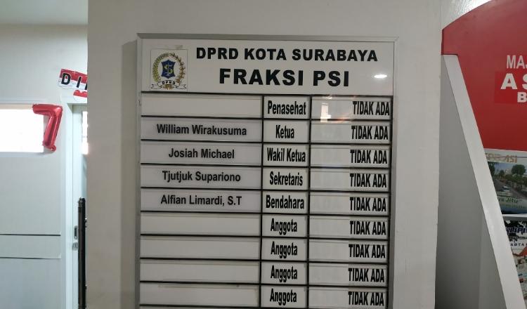 Karena Alasan Penyegaran, DPD PSI Surabaya Bakal Rombak Struktural Fraksi