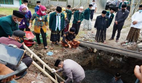 Pembangunan Gedung PCNU Purworejo Gunakan Dana Hibah Swakelola dari Pemkab Sebesar 2 Milyar
