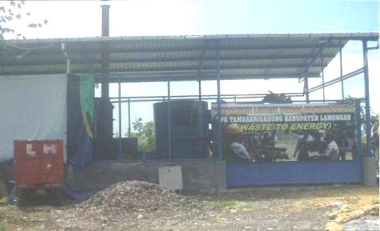 Pembangkit Listrik Tenaga Sampah di Lamongan Mangkrak