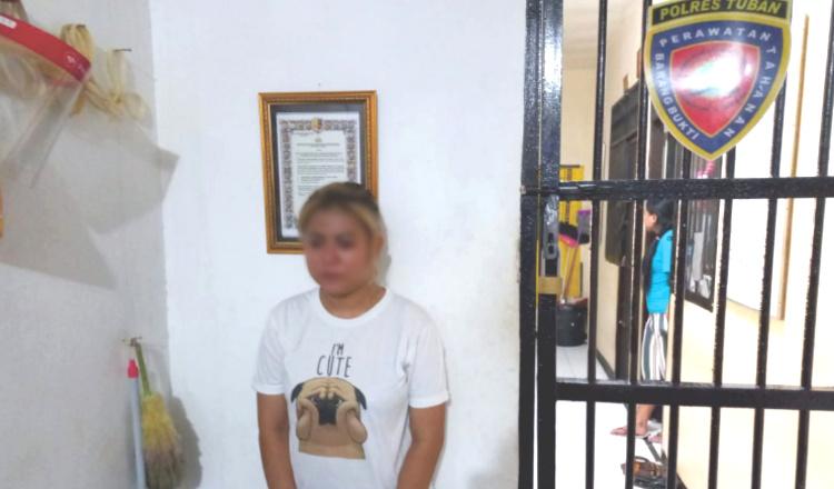 Tabrak Polisi Saat Bertugas, Perempuan Cantik Diamankan Polres Tuban