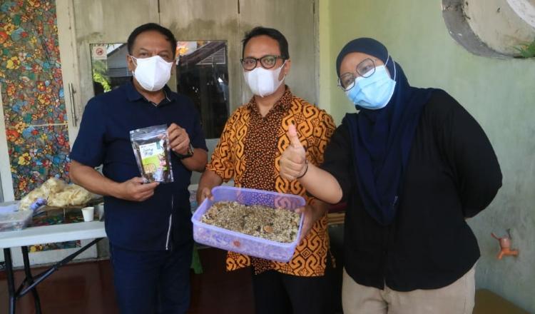 Komunitas Difabel Tekuni Budi Daya Maggot BSF, Dewan: Perlu Disupport