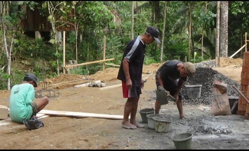 Dapat Kucuran Dana, Pokdarwis Joko Kendil Bangun Fasilitas Baru di Taman Sidandang