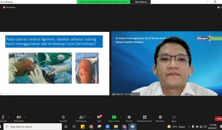 Siloam Hospitals Surabaya Beri Edukasi soal Atasi Nyeri Lutut