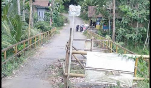 Anggaran Tak Kunjung Turun Akibat Refocusing, DPUPR Purworejo Terpaksa Bangun Jembatan Darurat